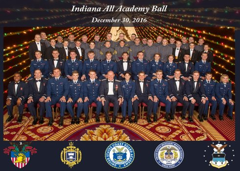 2015 Indiana All Academy Ball Group Photo